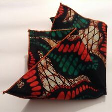 Mens Contemporary pocket square Cotton Multicolour -H