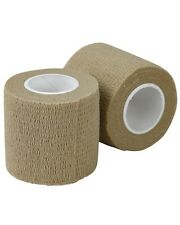 TAN TACTICAL ARMY STYLE STEALTH MULTI USE REUSABLE CLOTH SNIPER TAPE AIRSOFT