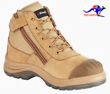 King Gee Tradie Boot K27510 Caramel/Brown Toecap(ALL SIZE)