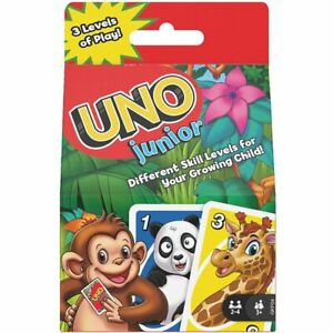 Uno Junior Family Card Game NEW - FREE POST