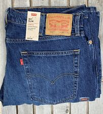Levi's 511 Jeans Mens Size W34 L30 Slim Fit Blue Denim Jungle Cruise