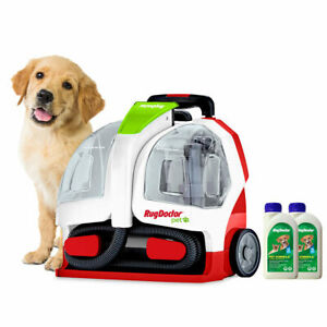 Rug Doctor Pet Portable Spot Cleaner with 2 x 500ml Pet Formula Cleaner