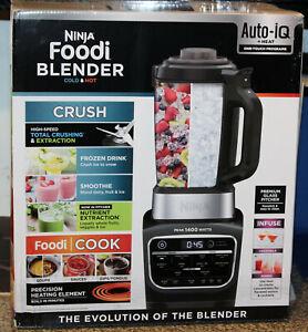 Ninja Foodi Cold & Hot Blender Auto-IQ Model HB100 1400W New in Box