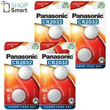 8 PANASONIC LITHIUM POWER CR2032 BATTERIES 3V COIN CELL DL2032 EXP 2028 NEW
