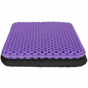 Orthopedic Gel Seat Cushion Pad for Car seat Office chair Desk Wheelchair Pillow
