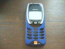 BRAND NEW Genuine Original Nokia 8210 Front fascia cover housing Blue
