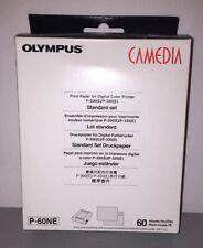 Olympus Camedia P-60NE Printer Photo Paper Genuine Original NIB Sealed