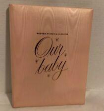 Better Homes and Gardens Baby Book Vintage 1959 Girl Pink Merideth Unused