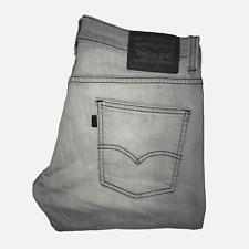 Levis 511™ 30 32 Mens Jeans Slim Fit Stonewash Grey Stretch Denim ENGINEERED