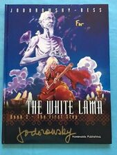 THE WHITE LAMA. BOOK 1- THE FIRST STEP - SIGNED BY JODOROWSKY