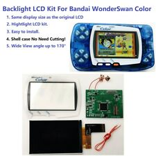Hightlight IPS Backlight LCD Screen For Bandai WonderSwan Color WSC Game Console