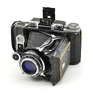 Moskva-2 RF 6x9 Medium Format Film Camera w/ Case! AS IS!