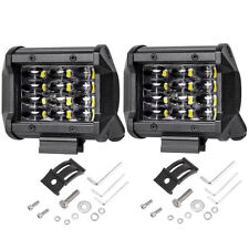 2X72W IP68 CREE LED Work Light Bar Flood Spot Offroad Truck Fog Driving SUV Boat