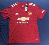 Man United Home Shirt 2020/21 Size Small Mens