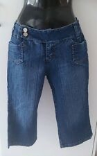 Diva Jeans blue 3/4 Jeans/ long denim shorts - Ladies /girls Size 10 Only BNWOT