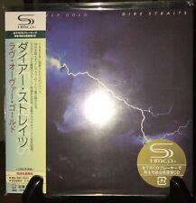 DIRE STRAITS- Love Over Gold, Japan MINI LP SHM CD w/OBI UICY-93730 LE #0713 OOP