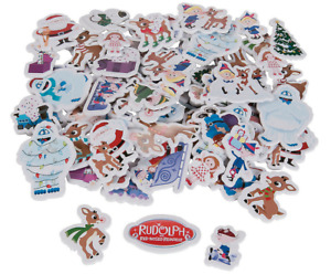 140 Rudolph the Red Nosed Reindeer Premium Foam Stickers Scrapbooking Gifts