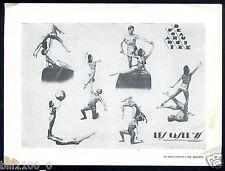 """publicité des acrobates de cirque . les """" Caselys """""""
