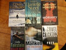 Mixed Book Bundle x6 Paperbacks Good Reads Thrillers Bestseller Books