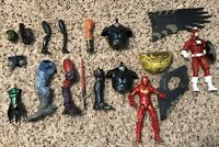 Marvel Legends Build A Figure And DC Universe Build A Figure Lot