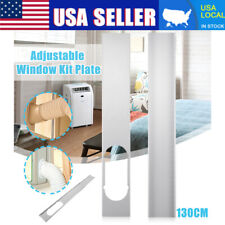 2Pcs Adjustable Window Slide Kit Plate Accessories For Portable Air Conditioner