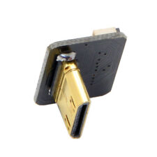 CYFPV Mini HDMI Type C Male Connector Up Angled 90 Degree to FPC 20Pin Adapter
