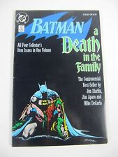 Batman a Death in the Family TPB (DC Comics 1989) 3rd Print;Jason Todd