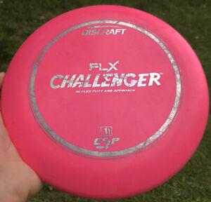 RARE Discraft FLX ESP Challenger PINK Hi-Flex Putter 174g Disc OOP