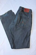 Men's EDWIN JEANS E-Function Twisted Seams Straight Leg Sz 32/33 made in japan