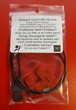 Airbag Seitenairbag Deaktivierung Stecker VW Golf3 Golf 3 GTI für Recaro Sparco