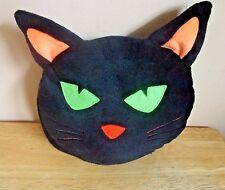Black Cat Head Book/Photo Album Cover Plush Stuffed Animal Must Have Cat Lovers