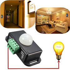 Automatic 8A DC 12V-24V Infrared PIR Motion Sensor Switch For LED light