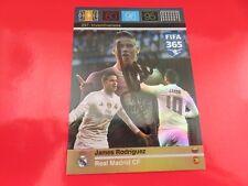 Real Madrid - signiert - Panini Card 365 Inventiveness James Rodriguez Kolumbien