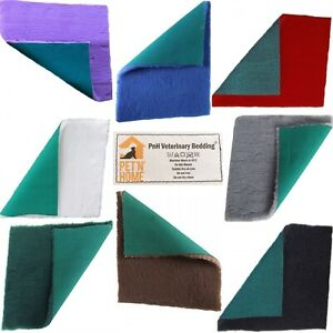 PnH Veterinary Bedding® Traditional Green Back ,Rectangle Size 100cm x 50cm