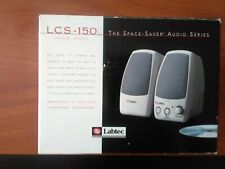 Labtec LCS 150 Computer Speakers - New