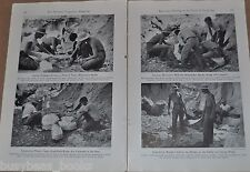 1947 magazine article about ARCHEOLOGY in the Badlands of South Dakota