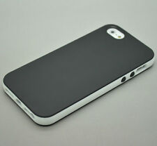 Dual Color Rubber Soft Silicone Gel Bumper TPU Case Cover for Apple iphone phone