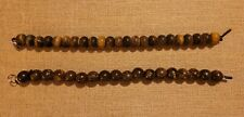 Large Hole Bronzite 12mm Round Beads with 2.5mm Drilled Hole - approx. 8 in str