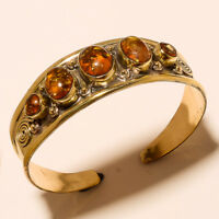 New Year Sale Offer 925 Tibetan Brass Free Shipping Cuff Amber Jewellery