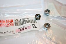 4 NOS YAMAHA SNOWMOBILE SUSPENSION LOCKING NUTS VMAX 500 600 800 95617-08100