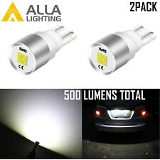 Alla 194 4-LED White Courtesy|Dome|Map|Glove Box|License Plate Tag Light Bulb 2X
