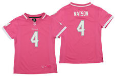 OuterStuff NFL Youth Girl's Houston Texans Deshaun Watson Jersey, Pink