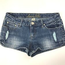 Love Notes Junio'rs Shorts Size 7 Shorts Distressed Jean Shorts Denim