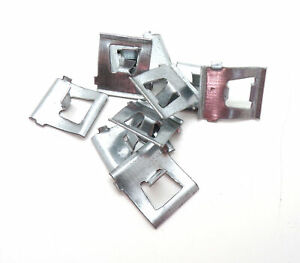 VW Beetle Pre 1966 (Thick) Running Board Chrome Molding Trim Clips X 10