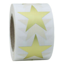 500 Labels Stickers Star Shape of Gold Stickers Seal Labels For Packag EW