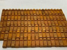 Lincoln Logs One Notch Wood Building Logs Replacement Parts Lot of 118