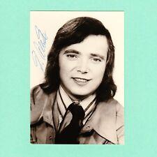 Autogramm Peter Albert signiert Echt Foto