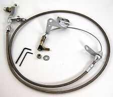 Chrysler 727 Stainless Steel Braided Kickdown Cable Assembly
