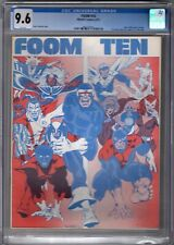FOOM 10  1975  CGC 9.6 NM+ White Pages / New X-Men Previewed / Huge Scarce Key!