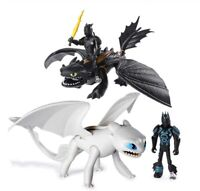 How to train your dragon Como entrenar a tu dragon figures toys juguetes 20CM